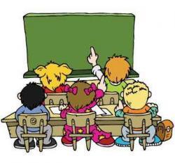 u školi